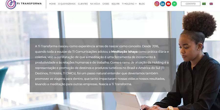 TI Comunicações lança unidade Ti Transforma, com meditação para empresas