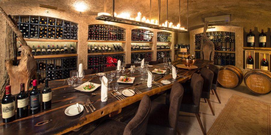 Sabi Sabi Private Game Reserve é premiado por ter a carta de vinhos mais original do continente